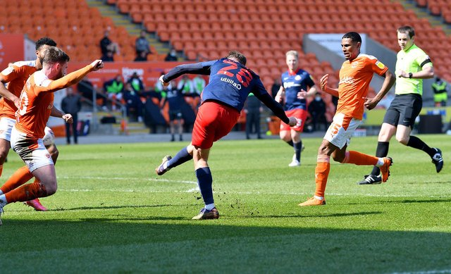 Aiden McGeady struck the post just moments before Blackpool's opening goal
