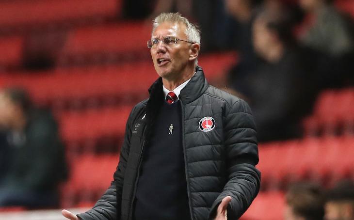 Charlton owner Thomas Sandgaard reacts to Nigel Adkins' sacking with caretaker boss to take charge of Sunderland clash