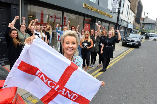 DesignerChildrenswear owner Brenda Coade has given all 52 staff the day off from work following the England V Italy EURO2020 final.