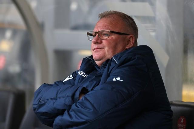 Gillingham manager Steve Evans.