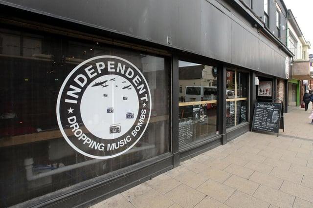 Independent in Holmeside, Sunderland.