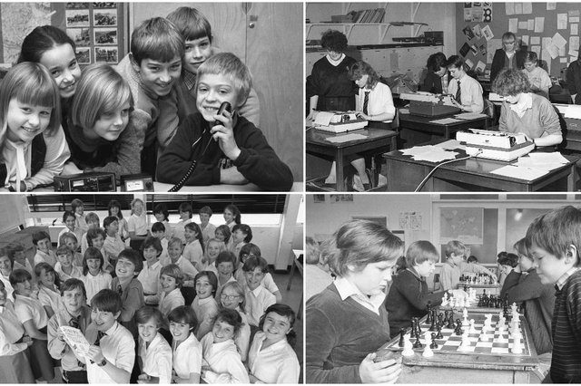 Take a look and re-live your schooldays.