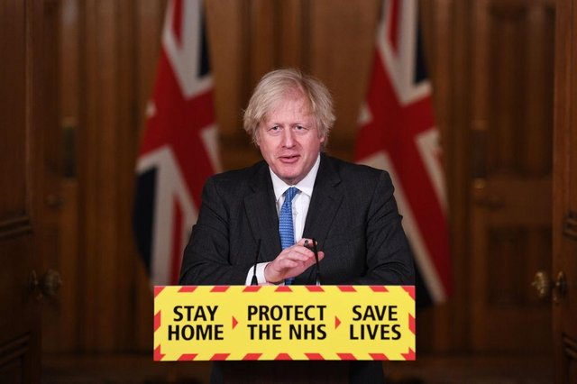 File picture of Boris Johnson as he outlines the 'roadmap' to easing lockdown. Photo by Stefan Rousseau - WPA Pool/Getty Images