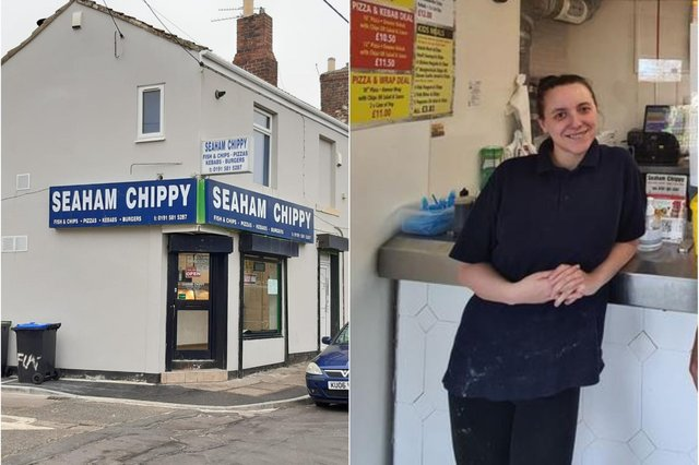 Seaham Chippy manager Michelle Gray had money and medication stolen from her purse while she was working.