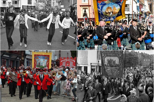 Do these Durham Miners Gala scenes bring back your own Big Meeting memories?