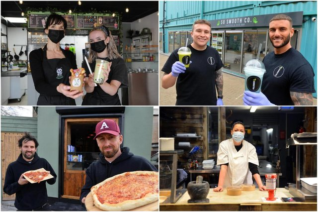 A host of new food and drink businesses have opened in 2021