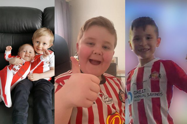 A selection of your photos following Sunderland AFC's Wembley triumph.
