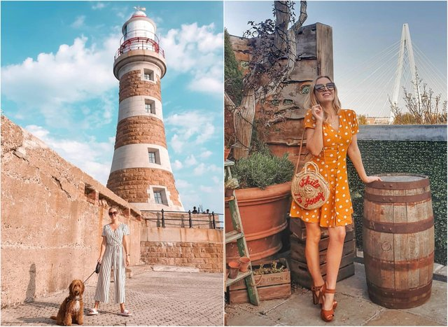 The 29-year-old now spends her time exploring the North East, including destinations across Sunderland.