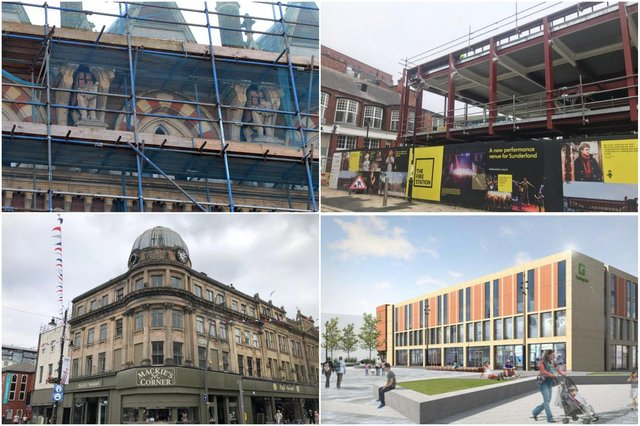 The changing face of Sunderland city centre