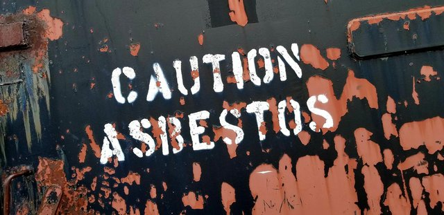 Asbestos is still an issue in some schools.