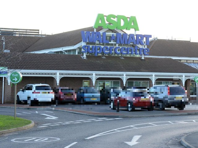 The offence took place at the Boldon Colliery Asda store