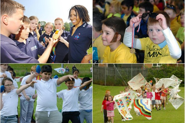 Did you meet Kelly Holmes, fly the flag at Bernard Gilpin School, try a throwing event at Richard Avenue or get dressed as Bradley Wiggins at Seaburn Dene Primary? We have all this and more.