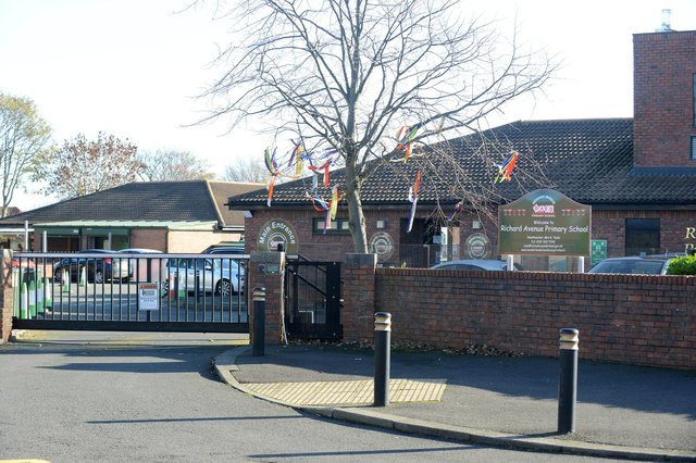 Year 5 pupils at Richard Avenue Primary School are having to self-isolate for 10 days.