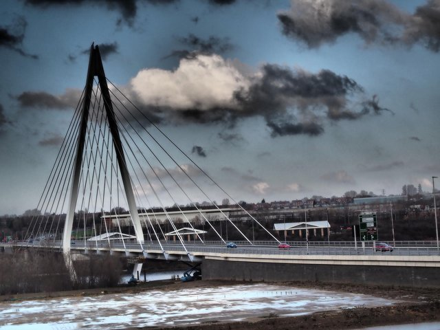 The Northern Spire Bridge in Sunderland will also be affected by the closures.