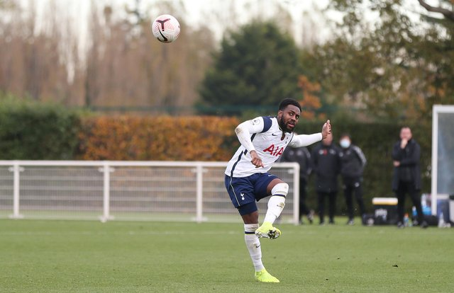 Tottenham Hotspur's Danny Rose during a PL2 match against Derby County.