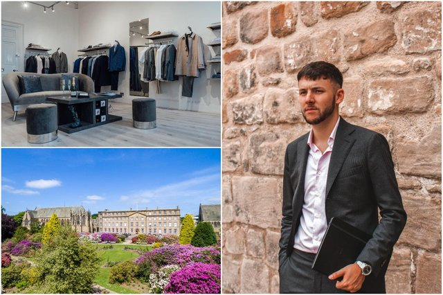 Walton & Sutherland boutique has been created in Ushaw Historic House