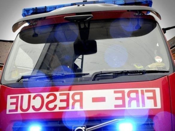 Two fire engines have been called to the scene