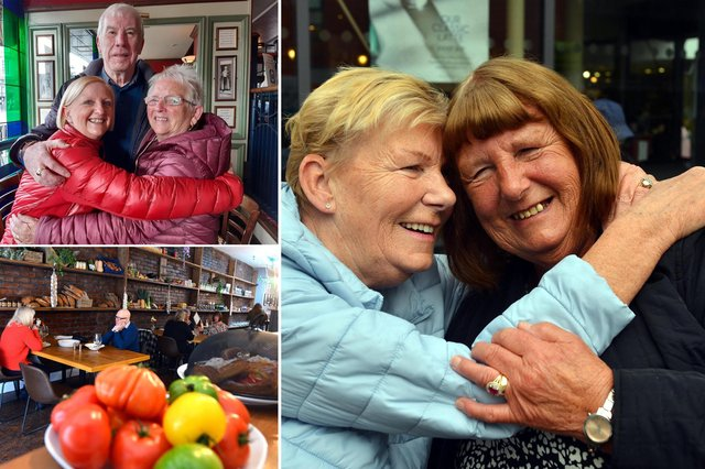 Sunderland folk get to see each other indoors, and hug, as social distancing restrictions ease.