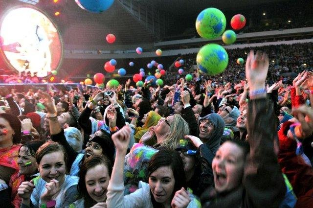 Coldplay wowed in 2012