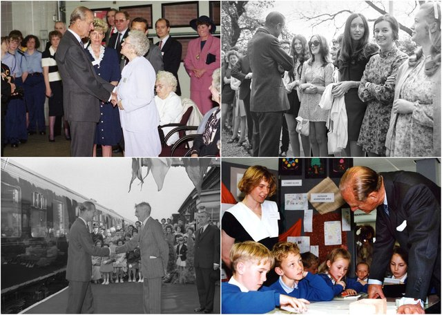 Prince Philip was warmly greeted by all generations on his trips to Wearside.