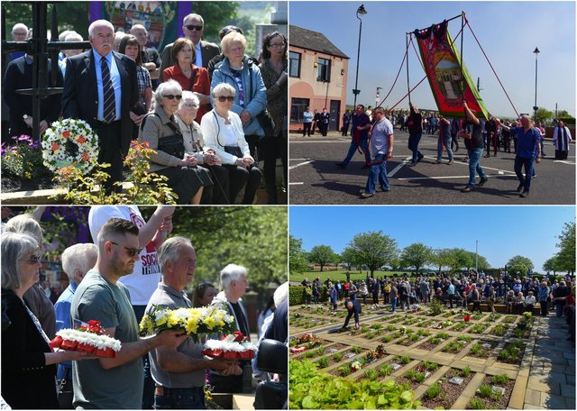 The community gathers to honour 70th anniversary of Easington pit disaster