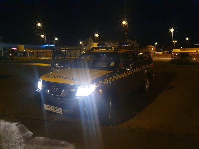 Rescues teams were called to report of a missing person in Seaham last night.