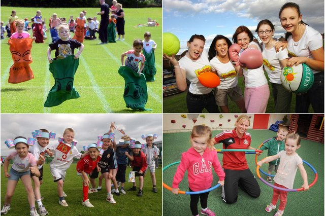 Running and jumping back to these Sunderland and County Durham sports day photos.