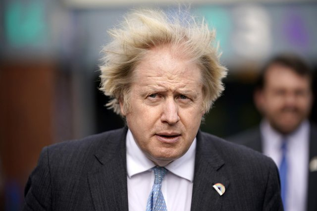 Prime Minister Boris Johnson has been issued with a county court judgment for an unpaid debt of £535. Photo: PA.