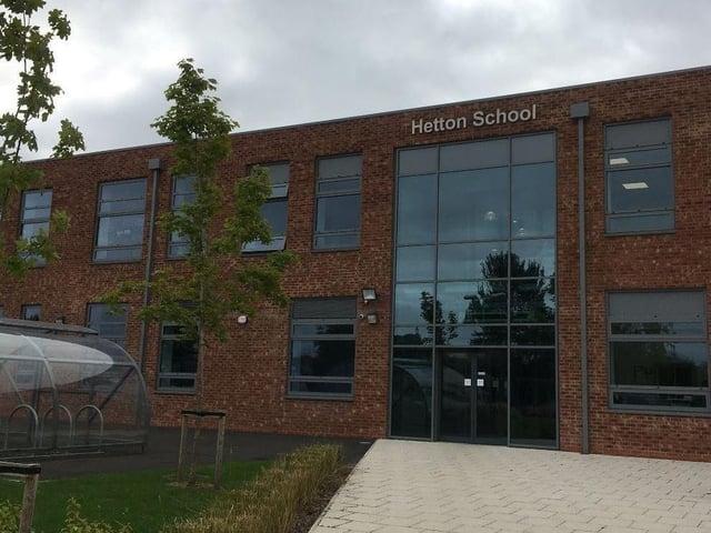 Hetton School.