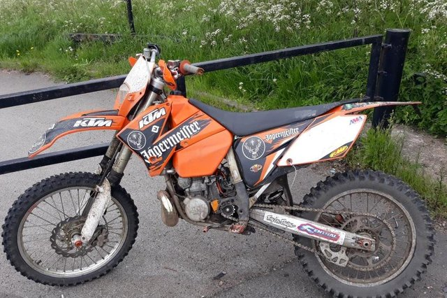 A bike seized as part of Operation Eagle on Sunday, May 30. Picture: Sunderland Police.