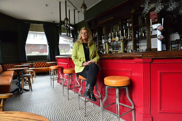 """Kimberley Cheetham at the Cross Keys said: """"We'll be so much busier. We might have to rethink the rotas."""""""