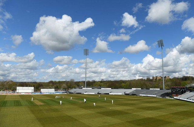 A general view of Durham's Emirates Riverside in Chester-le-Street. (Photo by Stu Forster/Getty Images)