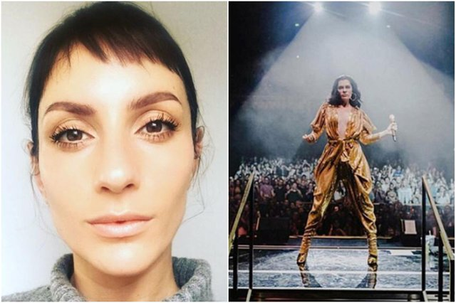 Madeleine Bowden (left) was the personal stylist for Jessie J (pictured right)