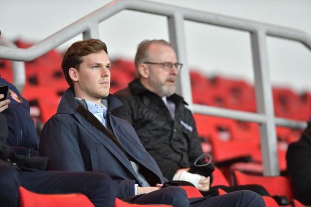 Sunderland Chairman Kyril Louis-Dreyfus met supporters at the Stadium of Light last week