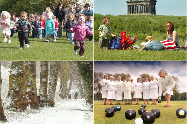 Sunderland and County Durham's parks have been in the picture hundreds of times over the years. Were you pictured in our mini retro selection?