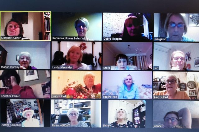 Washington Concord WI have been keeping in touch online
