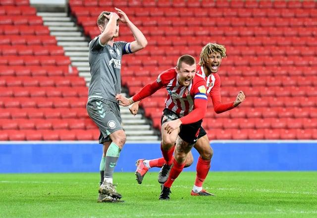 Sunderland captain Max Power