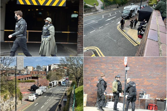 Filming for the 11th series of Vera took place in Sunderland's civic centre car park.
