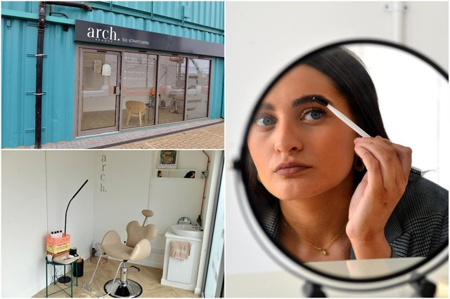 New business Arch brow bar at Stack