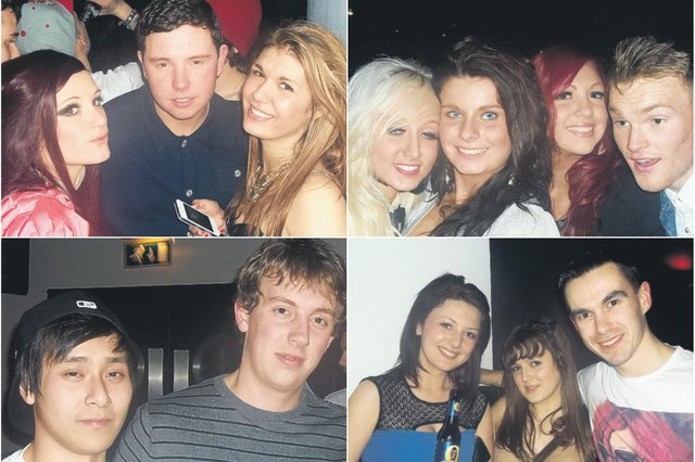 Who do you recognise in these retro photos from 9 years ago?