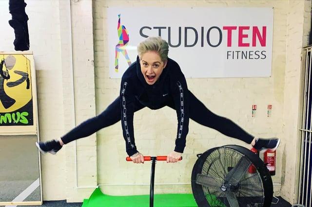 Owner of Studio Ten Fitness, Leanne Nyland