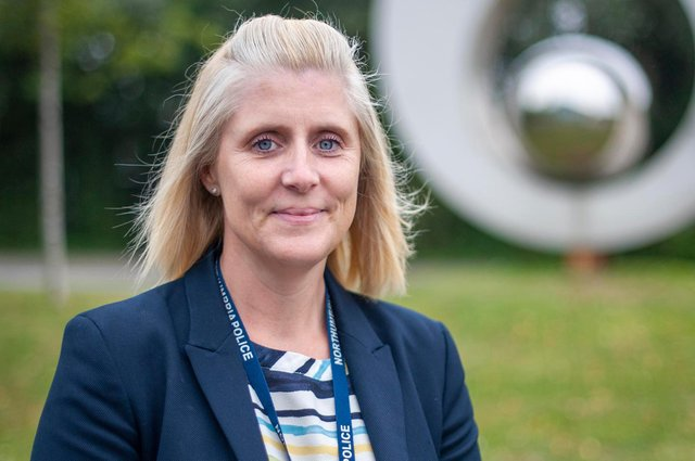 Detective Chief Inspector Lynne College