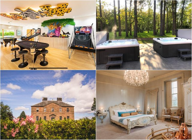 Here are the top five most expensive holiday lets across the region.