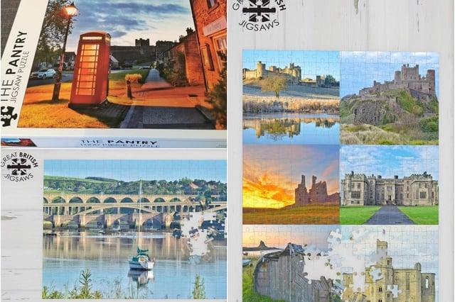 Some of Darren Chapman's Northumberland jigsaws.