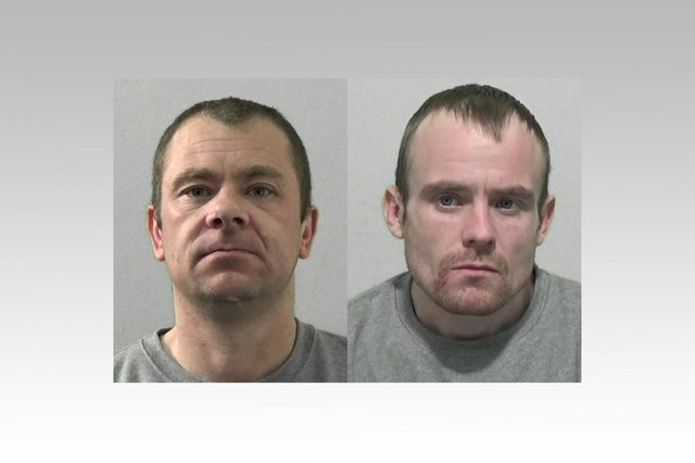 Michael Pemberton and Louis Johnson both pleaded guilty to  conspiracy to steal and conspiracy to commit burglary