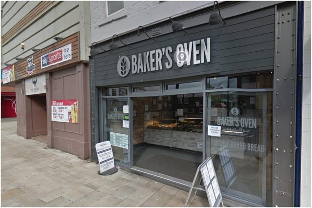 The incident is said to have taken place inside the Baker's Oven in Holmeside, Sunderland. Image by Google Maps.