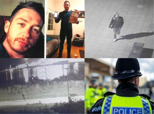 Police are appealing for help in finding missing dad Ky Parker.