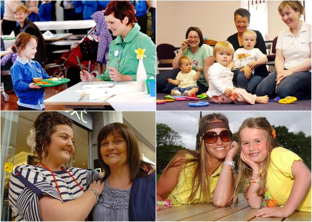 Who do you recognise in our line-up of magnificent mums over the years?