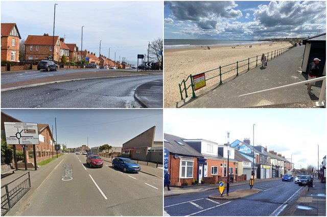These are the 13 areas in and around Sunderland with the lowest number of Covid cases