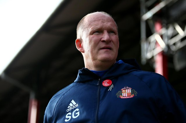 Simon Grayson during his days as Sunderland manager.